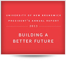 President's Annual Report 2013